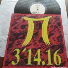 Discos de vinilo: 3'14.16 – PI-MAXI-ESPAÑA-1994-. Lote 294027898