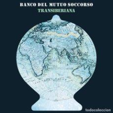 Discos de vinilo: BANCO DEL MUTUO SOCCORSO, TRANSIBERIANA, DOBLE LP, NUEVO. PORTADA DESPLEGABLE.. Lote 294030998