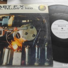 Discos de vinilo: BLAST F.X. – BLACK, YELLOW & RED- MAXI-ESPAÑA-1995-. Lote 294032538