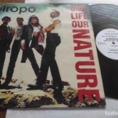 Discos de vinilo: PIROPO – OUR LIFE OUR NATURE-MAXI ESPAÑA-1995-. Lote 294033033