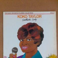 Discos de vinilo: KOKO TAYLOR. SOUTHSIDE LADY. 1975 FRANCIA. DISCO Y CARÁTULA VG++.. Lote 294039118