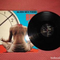Discos de vinilo: ALIEN SEX FIEND - BUN HO! REBEL REC MADE IN GERMANY. Lote 294043768