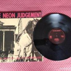 Discos de vinilo: THE NEON JUDGEMENT - A MAN AIN'T NO MAN WHEN A MAN AIN'T NO HORSE A PLAY IT AGAIN S MADE IN BELGIUM. Lote 294045778
