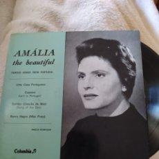 Discos de vinilo: AMALIA RODRÍGUES- AMALIA THE BEAUTIFUL. COLUMBIA 1957. Lote 294045838