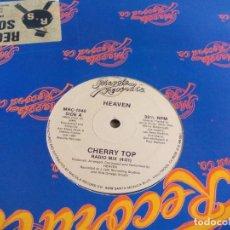 Discos de vinilo: MX. HEAVEN - CHERRY TOP. Lote 294051303