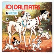 Discos de vinilo: CUENTODISCO BRUGUERA - 8 - 101 DÁLMATAS - WALT DISNEY - CUENTO + DISCO DE VINILO - HISPABOX - 1979. Lote 294053568