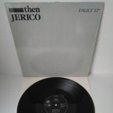 Discos de vinilo: THEN JERICO - FAULT (CLUB MIX) + THE BIG SWEEP (CLUB MIX) / MAXI SINGLE IMPORT TEMAZOS. Lote 294055678