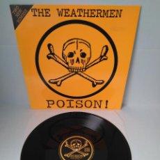 Discos de vinilo: THE WEATHERMEN - POISON! (TWO NEW REMIXES) / MAXI SINGLE IMPORT TEMAZOS. Lote 294056913