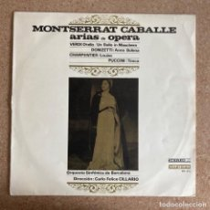 Discos de vinilo: MONTSERRAT CABALLÉ - ARIAS DE ÓPERA-1965. Lote 294058793