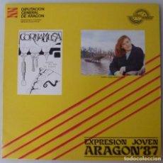 Discos de vinilo: EXPRESION JOVEN ARAGON 87 - CORNAMUSA · MARIA JOSE HERNANDEZ (LP ONDAS DIVIDIDAS). Lote 294062133