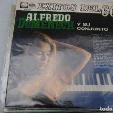 Discos de vinilo: ALFREDO DOMENECH. EXITOS 66. EMI 1976 LP. Lote 294062783