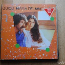 Discos de vinilo: QUICO I MARIA DEL MAR. ARIOLA 1979. LP AMB INSERTOS. Lote 294064143