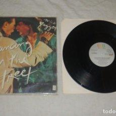 Discos de vinilo: DAVID BOWIE/MICK JAGGER - DANCING IN THE STREET. Lote 294064818