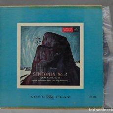Discos de vinil: LP. SIBELIUS. SERGE KOUSSEVITZKY. SYMPHONY NO. 2 IN D, OP. 43. Lote 294065318
