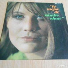 Discos de vinilo: SANDIE SHAW - LO MEJOR DE -, LP, MARIONETAS EN LA CUERDA + 13, AÑO 1967. Lote 294066953