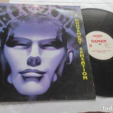 Discos de vinilo: OXMAN – A MOUVEMENT SENSATION-MAXI-ESPAÑA-1995-. Lote 294068938