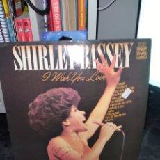 Discos de vinilo: SHIRLEY BASSEY. I WISH YOUNLOVE. EDICIÓN EMI.. Lote 294071278