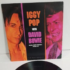 Discos de vinilo: IGGY POP WITH DAVID BOWIE - CHICAGO 1977. Lote 294071853