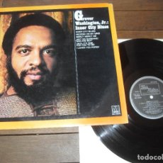 Discos de vinilo: INNER CITY BLUES LP. GROVER WASHINGTON, JR. MADE IN SPAIN. 1986. Lote 294079743