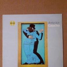 Discos de vinilo: STEELY DAN. GAUCHO. 1984 ESPAÑA. LB 250422-1. DISCO (VER DESCRIPCION). CARÁTULA EX. Lote 294085938