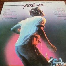 Discos de vinilo: VARIOS - B.S.O FOOTLOOSE - LP ORIGINAL CBS ESPAÑA 1984 - ENCARTE Y LETRAS - EN BUEN ESTADO. Lote 294093448