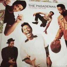 "Discos de vinilo: THE PASADENAS – I'M DOING FINE NOW.1991. SELLO: COLUMBIA – 657718 6 FORMATO: VINYL, 12"". VG+ / NM. Lote 294105108"
