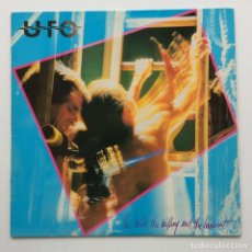 Discos de vinilo: UFO – THE WILD, THE WILLING AND THE INNOCENT , SCANDINAVIA 1981 CHRYSALIS. Lote 294105993