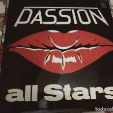 """Discos de vinilo: PASSION ALL STARS / DEE DEE - THE PASSION MEDLEY / NIGHT AFTER NIGHT (12"""")1985. NUEVO.MINT/NEAR MINT. Lote 294106403"""