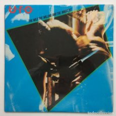 Discos de vinilo: UFO – THE WILD, THE WILLING AND THE INNOCENT , USA 1981 CHRYSALIS. Lote 294106503