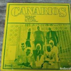 Discos de vinilo: CANARIOS - LIBÉRATE! ********* LP ESPAÑOL PROMOCIONAL DISCOLIBRO 1970. Lote 294106668