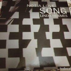 "Discos de vinilo: LINDA HERMES – NOT A LOVE SONG.1994.MAX MUSIC – NM1011MX (12"").NUEVO. MINT / NEAR MINT. ITALODANCE. Lote 294107828"