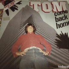 """Discos de vinilo: TOM* – COME BACK HOME.1983. SELLO: HISPAVOX – 549 066 (12""""),NUEVO. MINT / VG+. ITALO DISCO. Lote 294108578"""