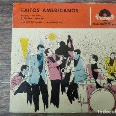 Discos de vinilo: MAX AND THE MAXIES - THE MANHATTANS -ÉXITOS AMERICANOS **** RARO EP ESPAÑOL ROCK AND ROLL 1958. Lote 294108888