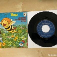 """Discos de vinilo: LA ABEJA MAYA - CANCIÓN SERIE ORIGINSL RTVE - SINGLE 7"""" SPAIN 1977. Lote 294109338"""