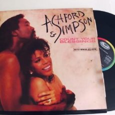 Discos de vinilo: ASHFORD AND SIMPSON-MAXI COUNT YOUR BLESSINGS. Lote 294111683