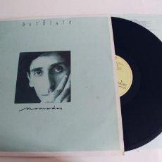 Discos de vinilo: BATTIATO-LP NOMADAS-ENCARTE LETRAS-BUEN ESTADO. Lote 294112228