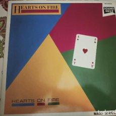 "Discos de vinilo: HEARTS ON FIRE - HEARTS ON FIRE.1986. (12"") SOUNDSHOP SO 40003.NUEVO.MINT / NEAR MINT. ITALO DISCO.. Lote 294113138"