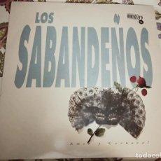 Discos de vinilo: LOS SABANDEÑOS - AMOR Y CARNAVAL (2XLP, ALBUM)SELLO:ZAFIRO CAT. N.º:30713501.NUEVO. MINT / NEAR MINT. Lote 294114283