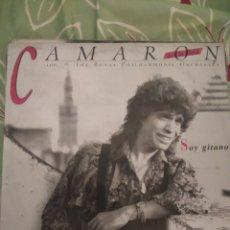Discos de vinilo: CAMARÓN DE LA ISLA. SOY GITANO. LP.. Lote 294115283