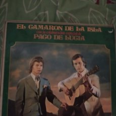 Discos de vinilo: CAMARÓN DE LA ISLA CON PACO DE LUCIA. LP.. Lote 294115368