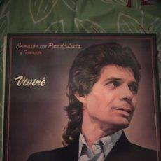 Discos de vinilo: CAMARÓN DE LA ISLA. VIVIRÉ. LP. Lote 294115413