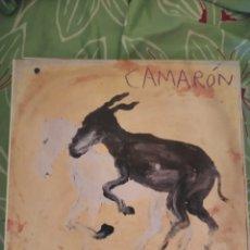 Discos de vinilo: CAMARÓN DE LA ISLA. POTRO DE RABIA Y MIEL. LP. Lote 294115453
