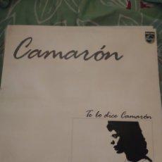 Discos de vinilo: CAMARÓN DE LA ISLA. TE LO DICE CAMARÓN. LP. Lote 294115548