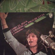 Discos de vinilo: CAMARÓN DE LA ISLA. COMO EL AGUA. LP. Lote 294115578