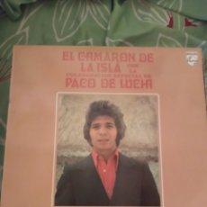 Discos de vinilo: CAMARÓN DE LA ISLA. LP.. Lote 294115588