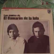 Discos de vinilo: LOS CANTES DE CAMARÓN DE LA ISLA. DOBLE LP.. Lote 294115618