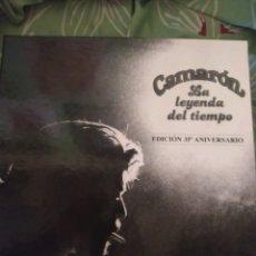 Discos de vinilo: CAJA DE CAMARÓN DE LA ISLA. CONTIENE ÁLBUM DE FOTOS Y CD.Y LP. Lote 294115678