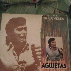 Discos de vinilo: AGUJETAS. EN LA VEREA. LP.. Lote 294115708