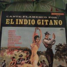 Discos de vinilo: EL INDIO GITANO. LP.. Lote 294115743