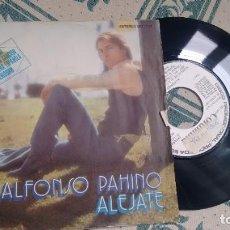 Discos de vinilo: SINGLE (VINILO) -PROMOCION- DE ALFONSO PAHINO AÑOS 70. Lote 294123458